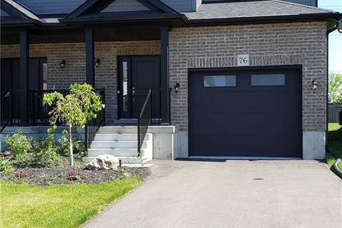 Townhouse for sale at 76 Robertson St Collingwood Ontario - MLS: S4578681