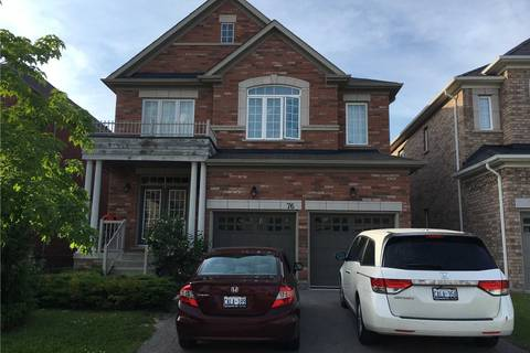 House for rent at 76 Shale Cres Vaughan Ontario - MLS: N4483785