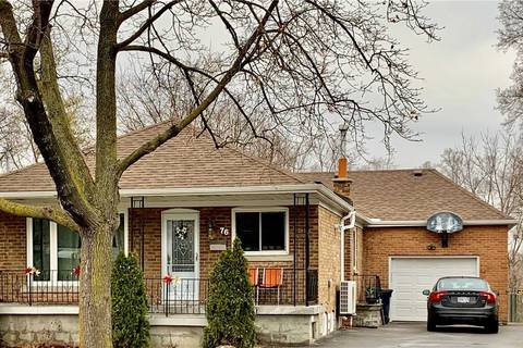House for rent at 76 Westhead Rd Toronto Ontario - MLS: W4686184