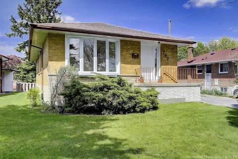 House for sale at 760 Brimorton Dr Toronto Ontario - MLS: E4485716
