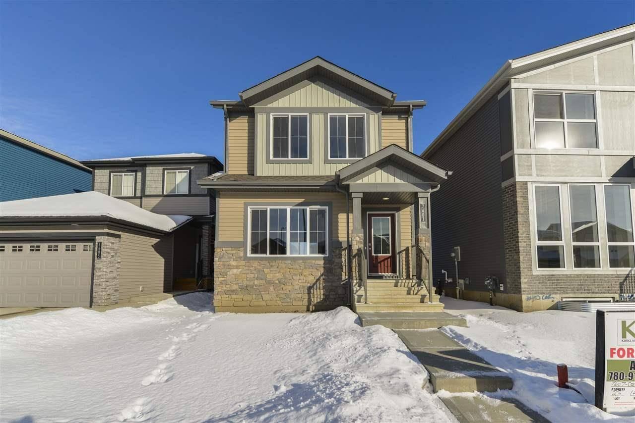 House for sale at 7607 Creighton Pl Sw Edmonton Alberta - MLS: E4186793