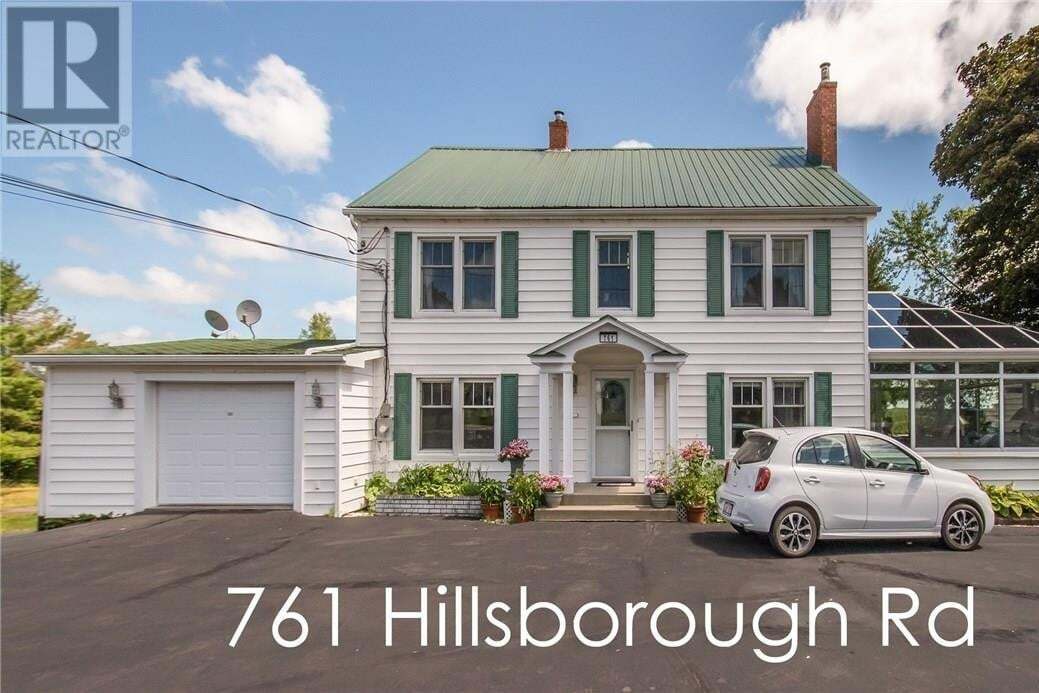 House for sale at 761 Hillsborough Rd Riverview New Brunswick - MLS: M129403