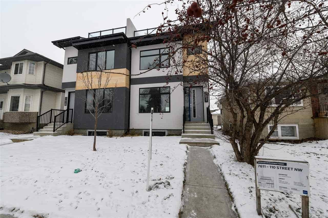 Townhouse for sale at 7611 110 St Nw Edmonton Alberta - MLS: E4182905