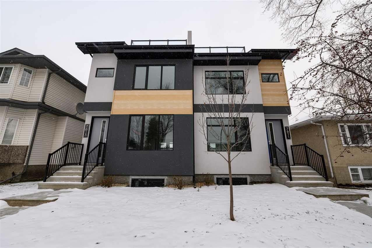 Townhouse for sale at 7613 110 St NW Edmonton Alberta - MLS: E4202142