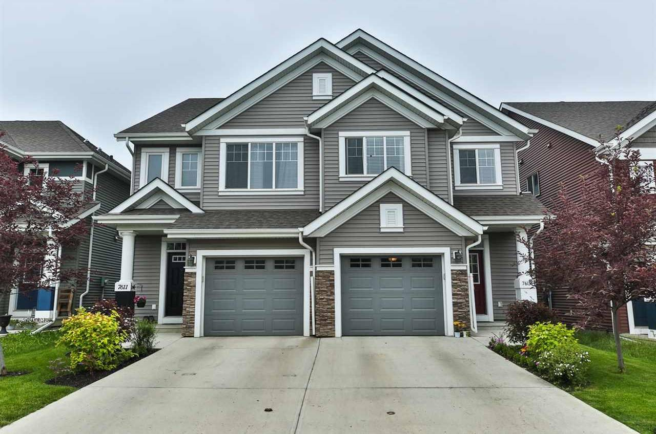 Townhouse for sale at 7613 24 Ave Sw Edmonton Alberta - MLS: E4165421