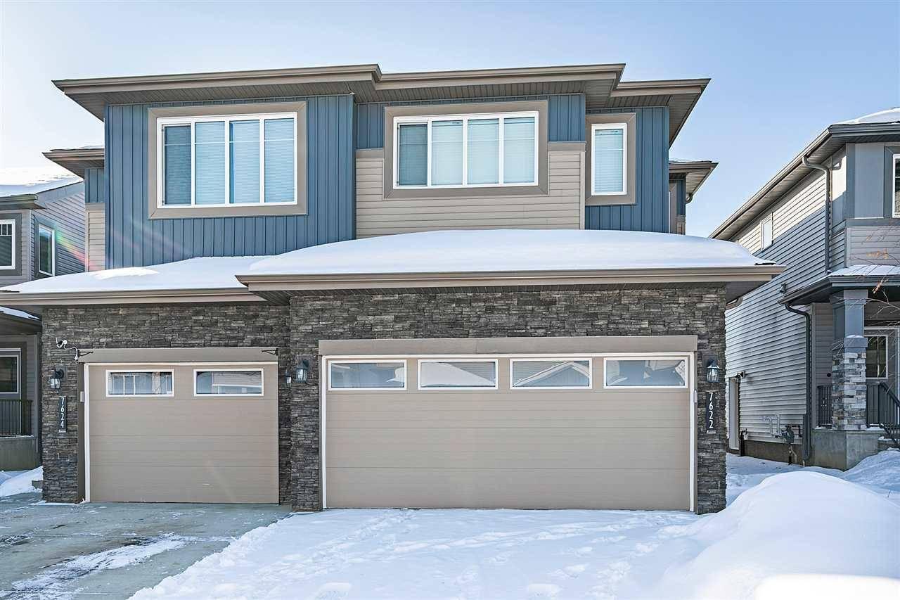 Townhouse for sale at 7622 Creighton Pl Sw Edmonton Alberta - MLS: E4191429