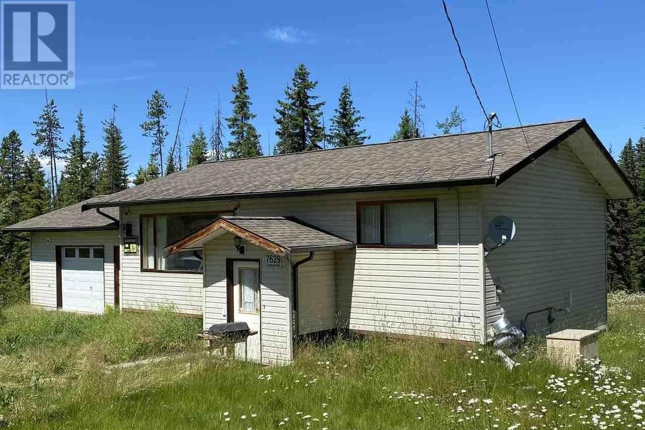 House for sale at 7629 Ludlom Rd Deka Lake / Sulphurous / Hathaway Lakes British Columbia - MLS: R2481594