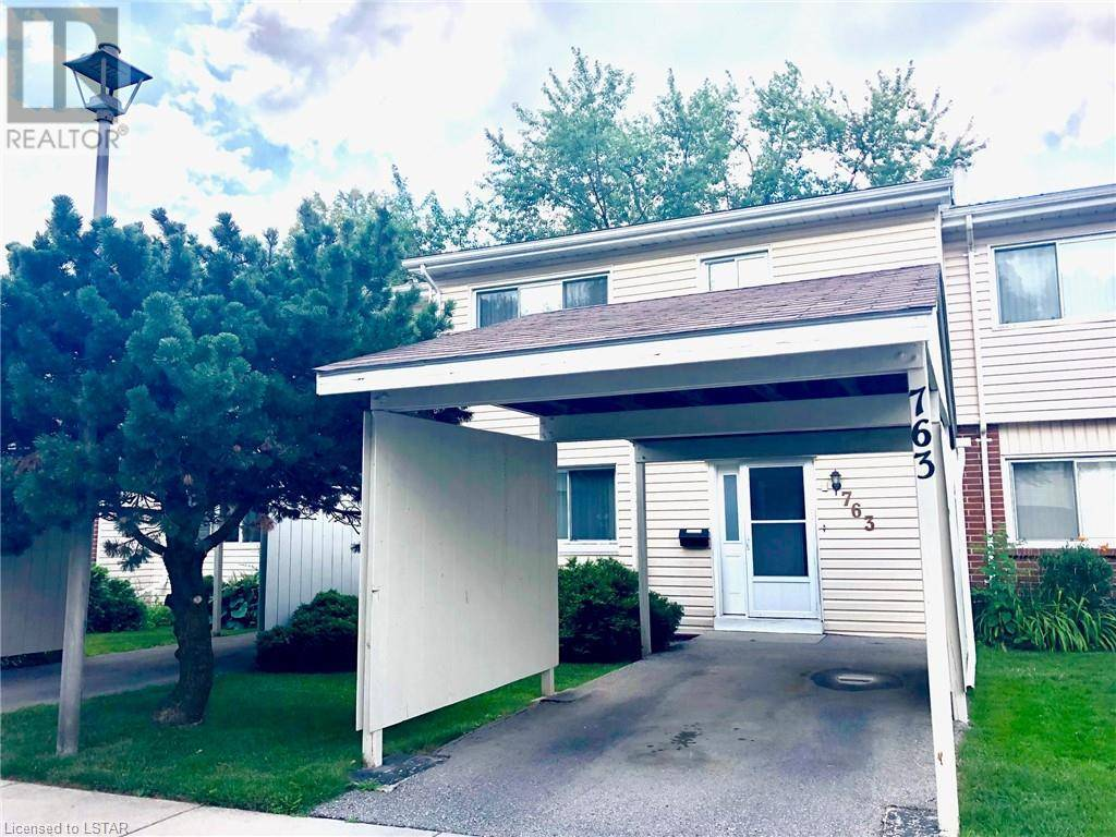 Townhouse for sale at 763 Wilkins St London Ontario - MLS: 212807