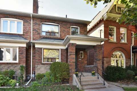 Townhouse for sale at 766 Euclid Ave Toronto Ontario - MLS: C4954164