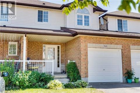 Townhouse for sale at 768 Paris Blvd Waterloo Ontario - MLS: 30751390