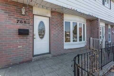 Townhouse for sale at 7680 Benavon Rd Mississauga Ontario - MLS: W4382948