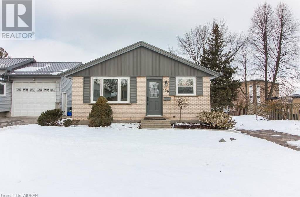 House for sale at 769 Gladstone Dr Woodstock Ontario - MLS: 244413