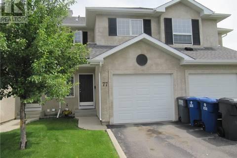 Townhouse for sale at 103 Banyan Cres Unit 77 Saskatoon Saskatchewan - MLS: SK779726