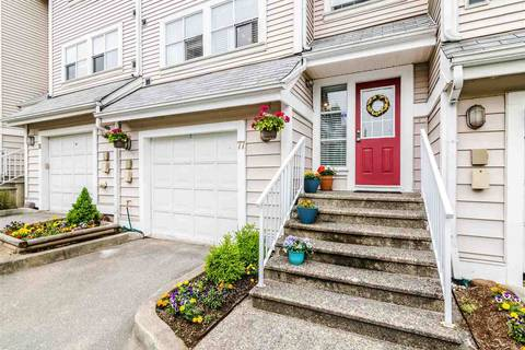 Townhouse for sale at 2450 Hawthorne Ave Unit 77 Port Coquitlam British Columbia - MLS: R2377174