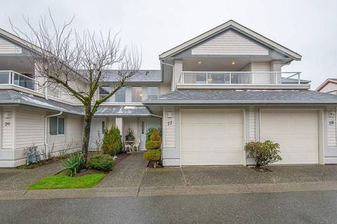 Townhouse for sale at 31406 Upper Maclure Rd Unit 77 Abbotsford British Columbia - MLS: R2434535