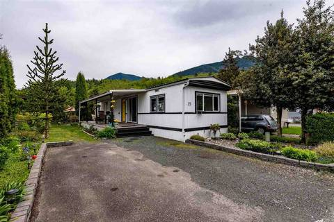Home for sale at 3942 Columbia Valley Rd Unit 77 Cultus Lake British Columbia - MLS: R2453633