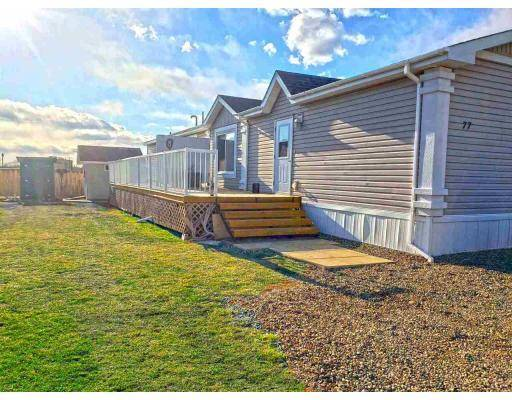 Home for sale at 7414 Forest Lawn St Unit 77 Fort St. John British Columbia - MLS: R2364574