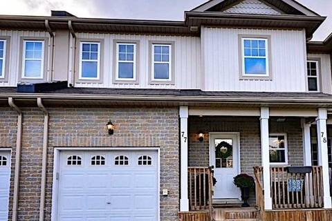 Townhouse for sale at 800 West Ridge Blvd Unit 77 Orillia Ontario - MLS: S4391555
