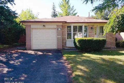 House for rent at 77 Aspenwood Dr Toronto Ontario - MLS: C4561458