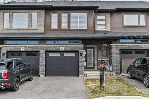 Townhouse for sale at 77 Burley Ln Hamilton Ontario - MLS: X4738529