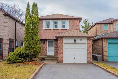 House for sale at 77 Chatfield Dr Ajax Ontario - MLS: E4729880