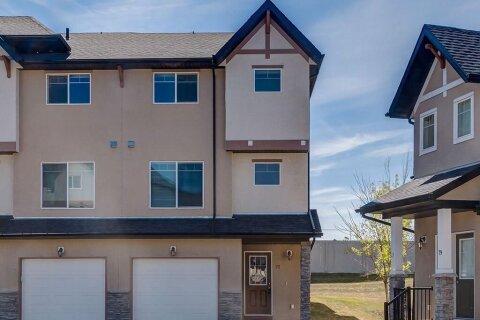 Townhouse for sale at 77 Cimarron Vista Gdns Okotoks Alberta - MLS: A1046616