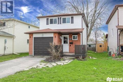 House for sale at 77 Corbett Dr Barrie Ontario - MLS: 30734051