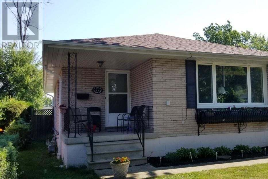 House for sale at 77 Coverdale St Chatham Ontario - MLS: 20007861