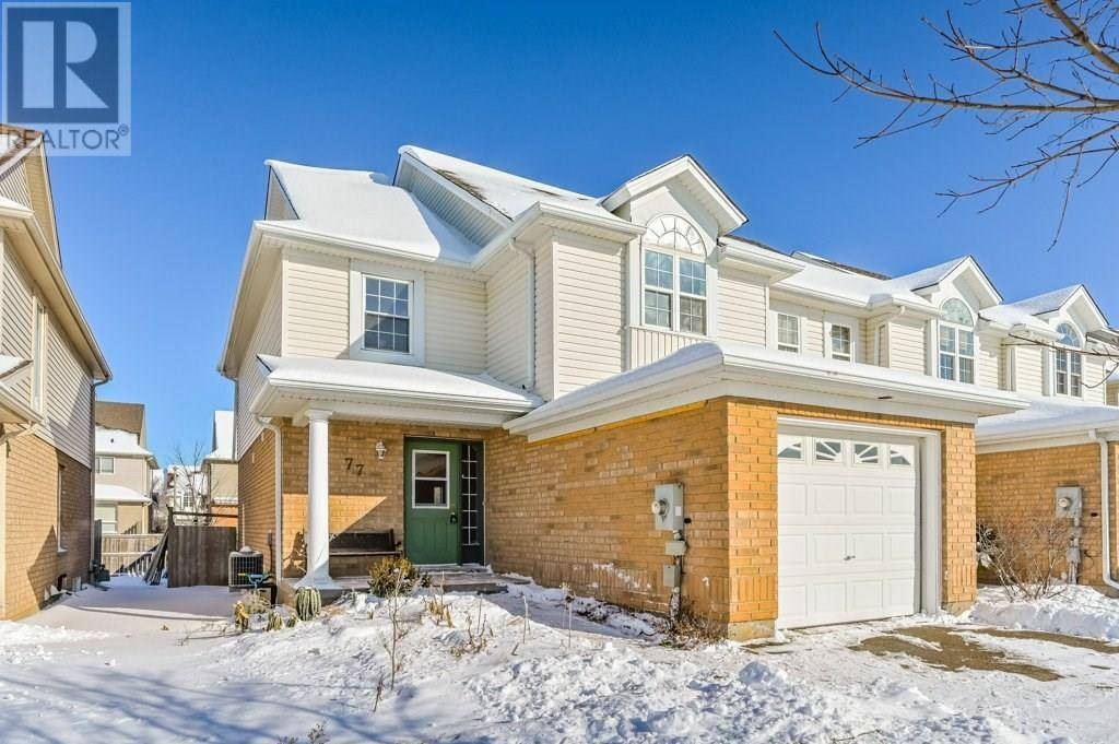 Townhouse for sale at 77 Farley Dr Guelph Ontario - MLS: 30786871