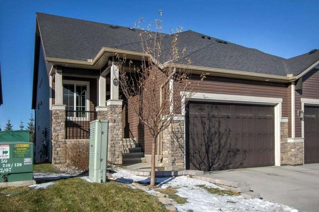 Townhouse for sale at 77 Fireside Ld Fireside, Cochrane Alberta - MLS: C4285624