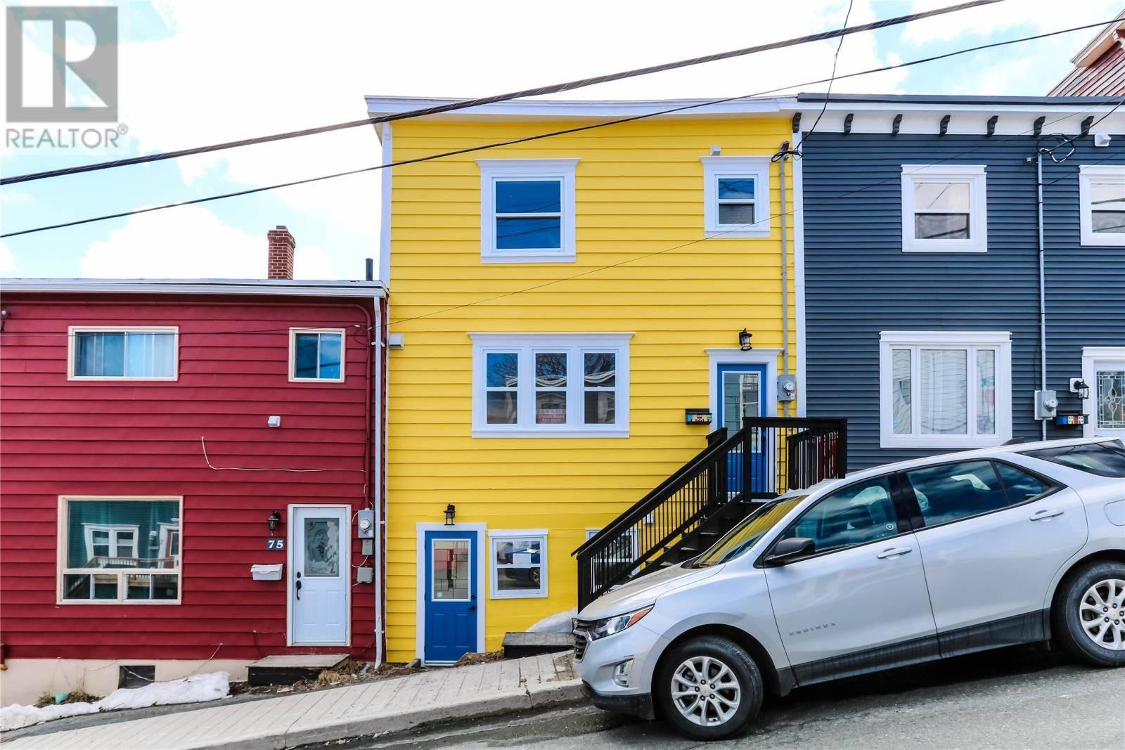 House for sale at 77 Flower Hl St. John's Newfoundland - MLS: 1209527