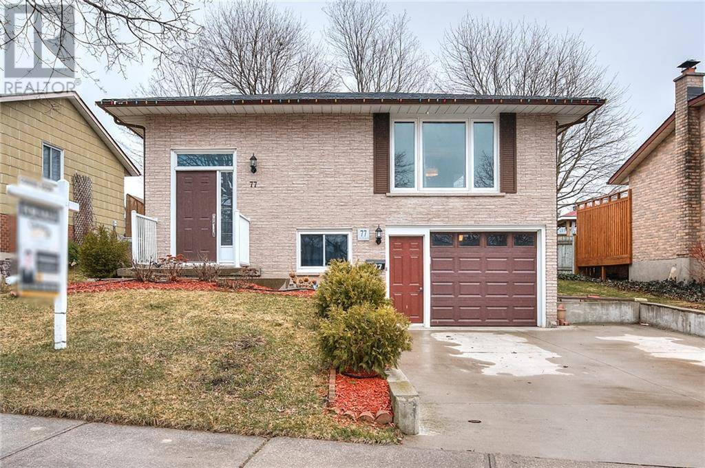 House for sale at 77 Littlefield Cres Kitchener Ontario - MLS: 30800976