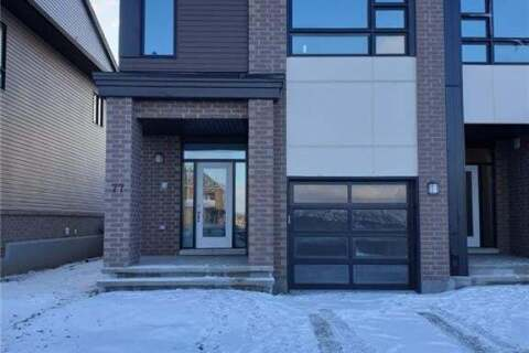 Property for rent at 77 Longworth Ave Ottawa Ontario - MLS: 1212741