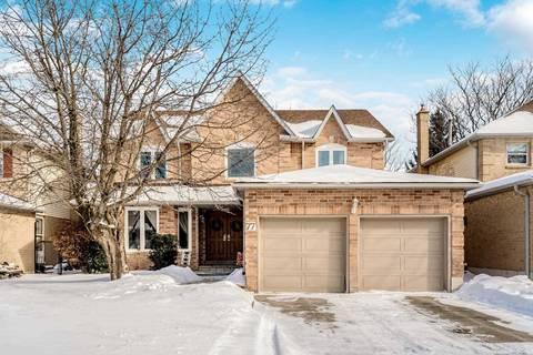 House for sale at 77 Mcclellan Wy Aurora Ontario - MLS: N4696695