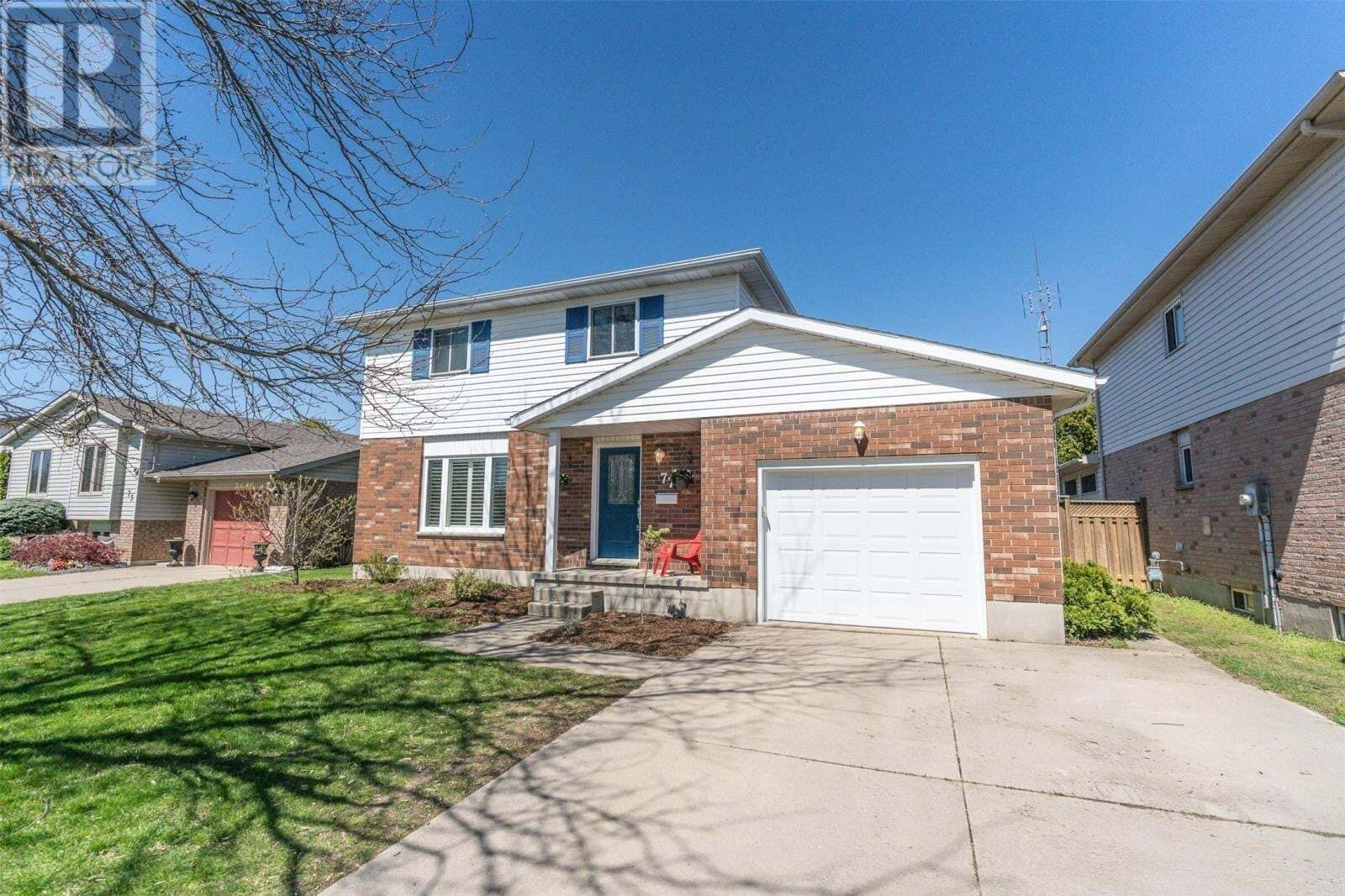House for sale at 77 Monarch Dr Chatham Ontario - MLS: 20005306