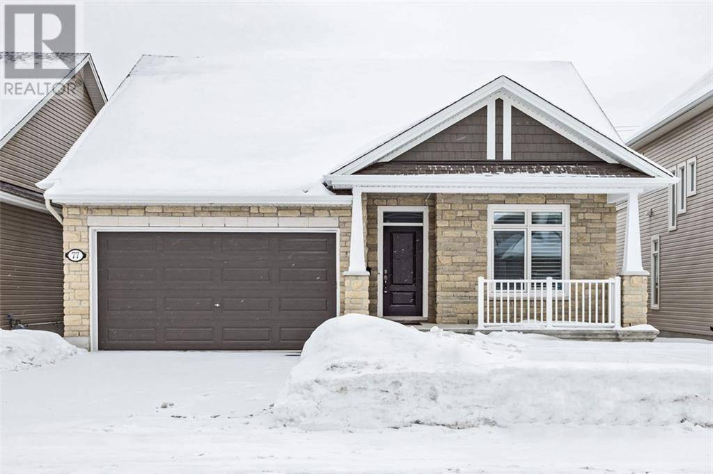House for sale at 77 Shackleford Wy Stittsville Ontario - MLS: 1182325