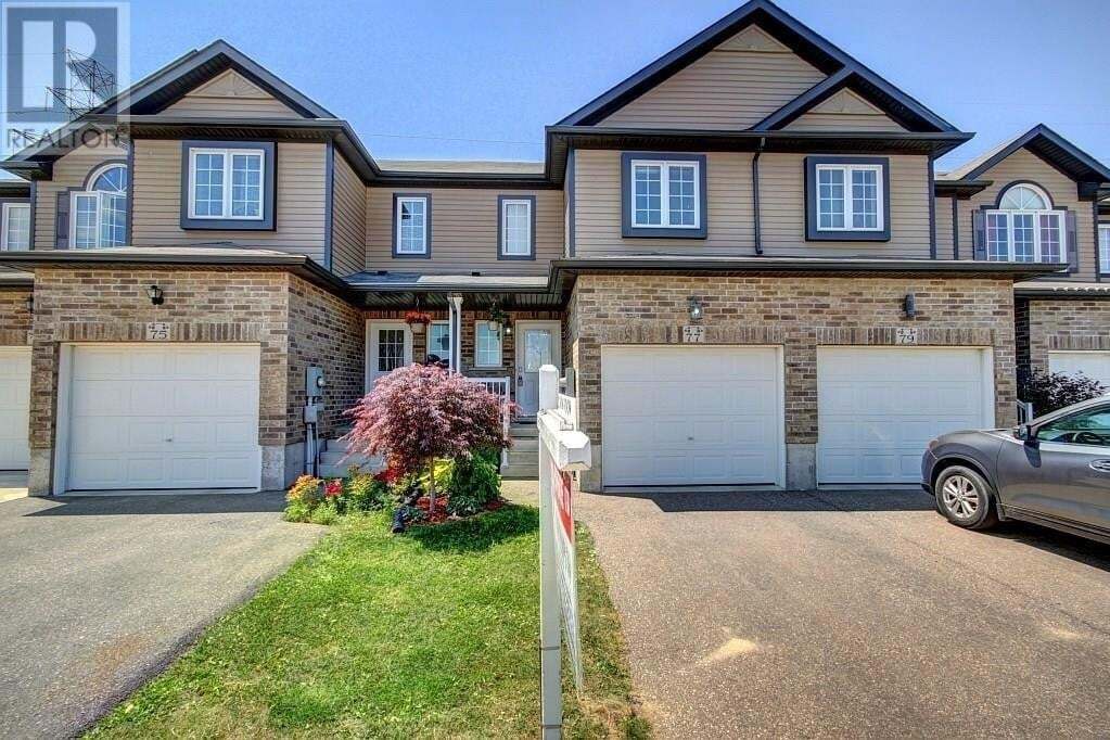 Townhouse for sale at 77 Sorrento St Kitchener Ontario - MLS: 30819954