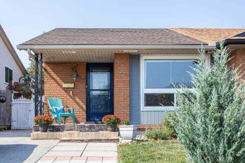 Townhouse for sale at 77 Spartan Ave Hamilton Ontario - MLS: X4929554