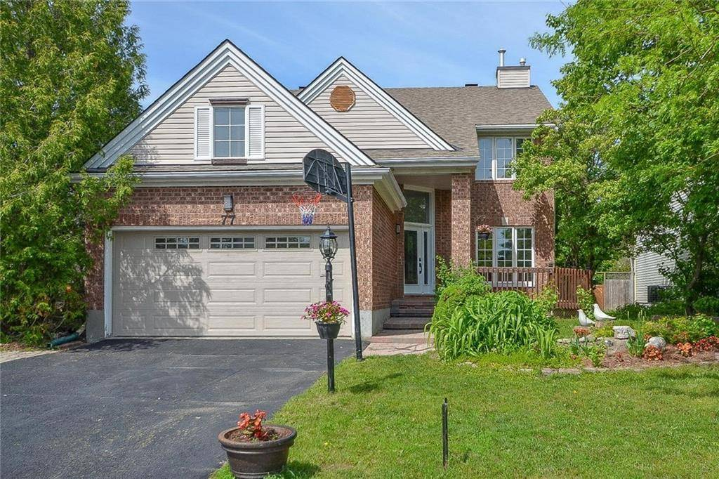 House for sale at 77 Steeple Chase Dr Kanata Ontario - MLS: 1160691