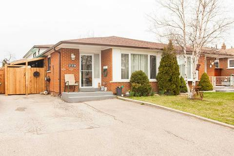 Townhouse for sale at 770 Consort Cres Mississauga Ontario - MLS: W4420875