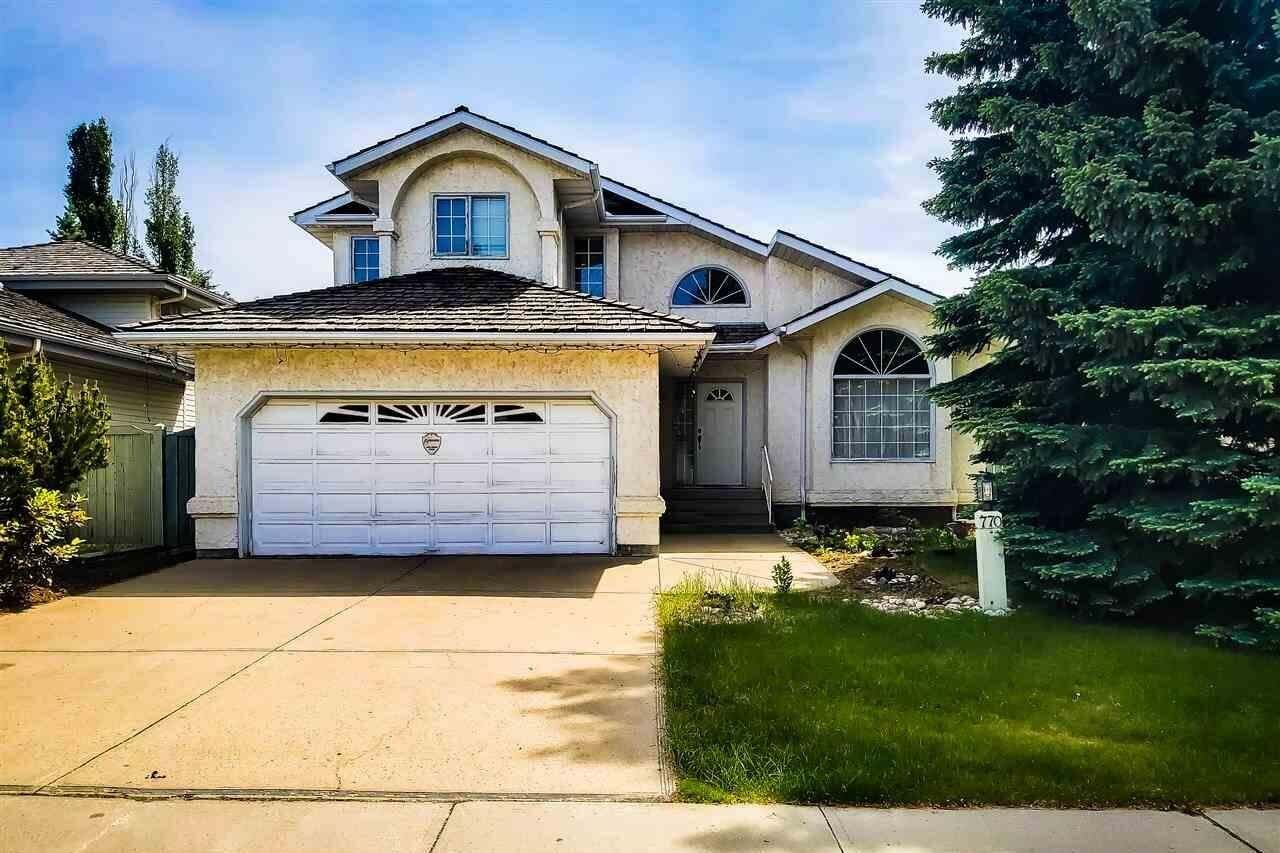 House for sale at 770 Wells Wd NW Edmonton Alberta - MLS: E4202048