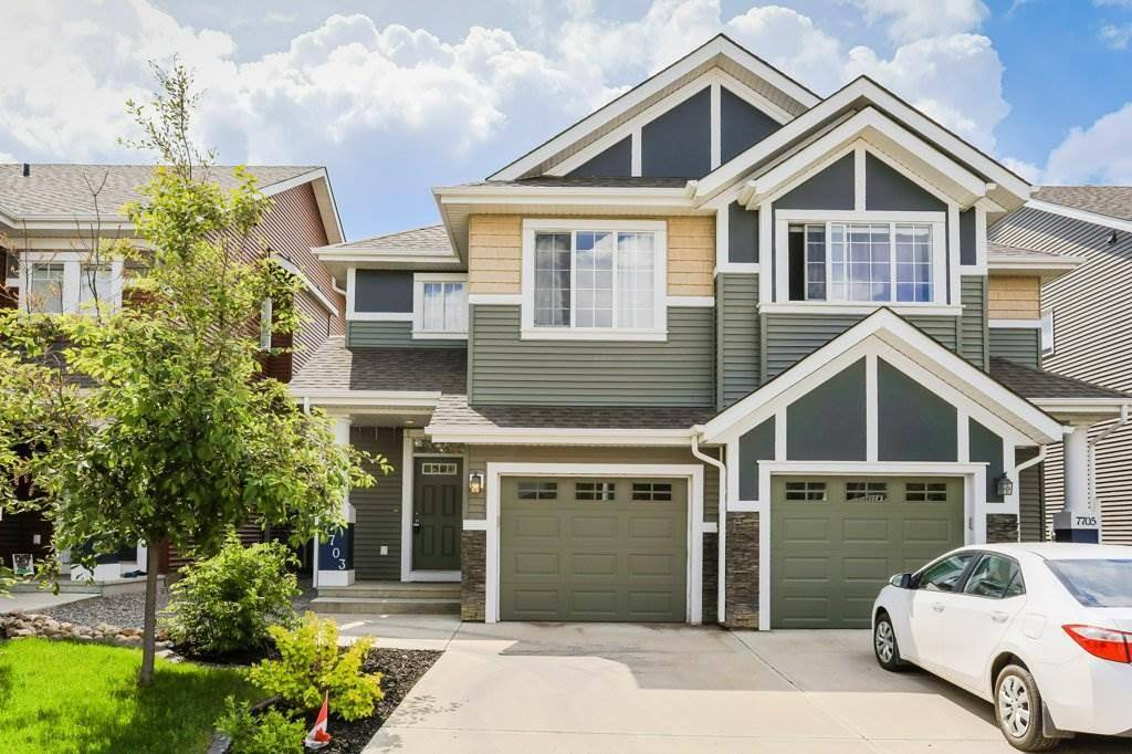 Townhouse for sale at 7703 24 Ave Sw Edmonton Alberta - MLS: E4161348