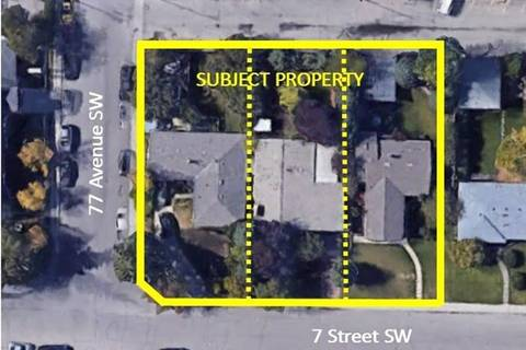 Residential property for sale at 7707 7 St Southwest Calgary Alberta - MLS: C4238133