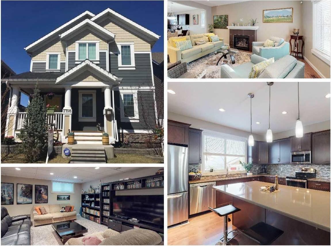 House for sale at 7708 Summerside Grande Blvd Sw Edmonton Alberta - MLS: E4185599