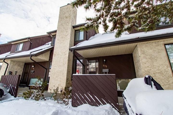 Townhouse for sale at 772 Saddleback Rd NW Edmonton Alberta - MLS: E4221095