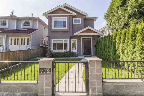 Townhouse for sale at 772 68th Ave W Vancouver British Columbia - MLS: R2401569