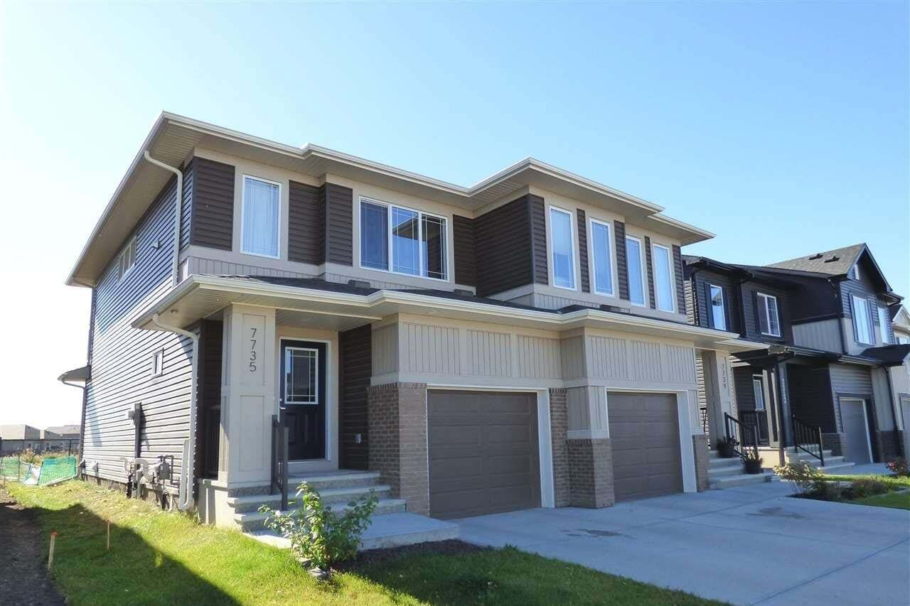 Townhouse for sale at 7735 174b Av NW Edmonton Alberta - MLS: E4216377