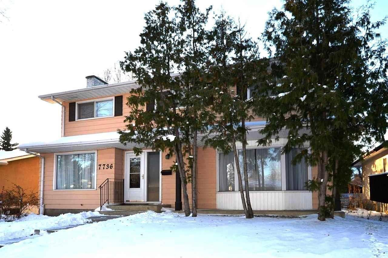 House for sale at 7736 156 St NW Edmonton Alberta - MLS: E4221444