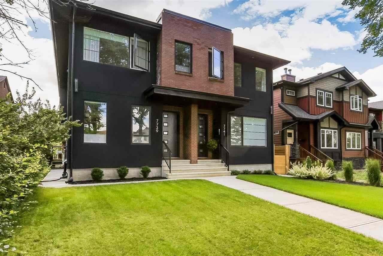 Townhouse for sale at 7739 81 Av NW Edmonton Alberta - MLS: E4213200