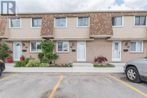 Residential property for sale at 46 Osgoode Dr Unit 775 London Ontario - MLS: 202440